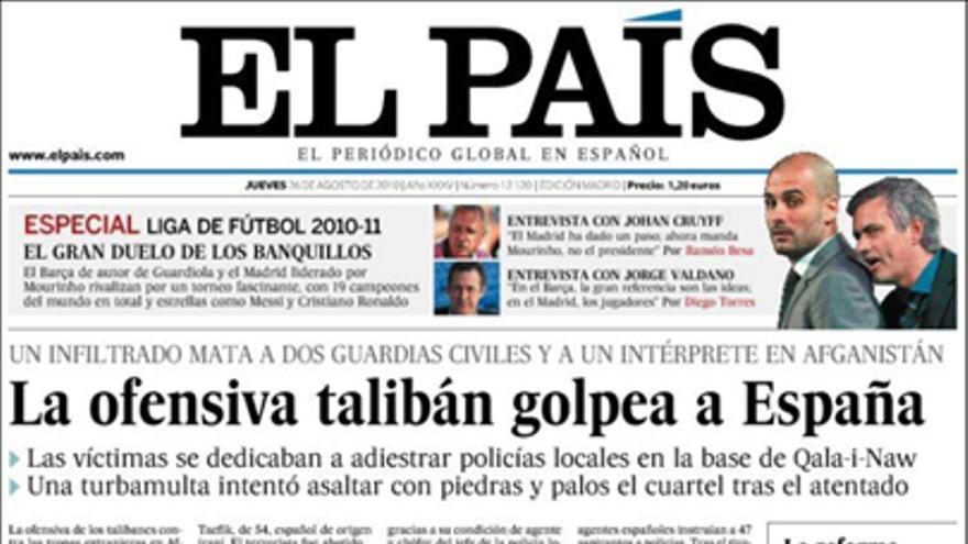 De las portadas del día (26/08/2010) #6
