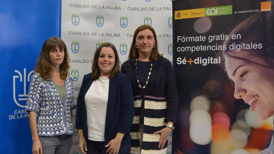 Presentación del  programa de capacitación ciudadana 'Sé + Digital'.