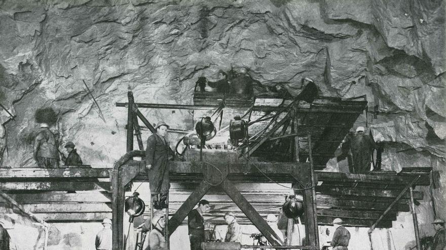 Construcción del túnel de Guadarrama. / Foto: Abertis