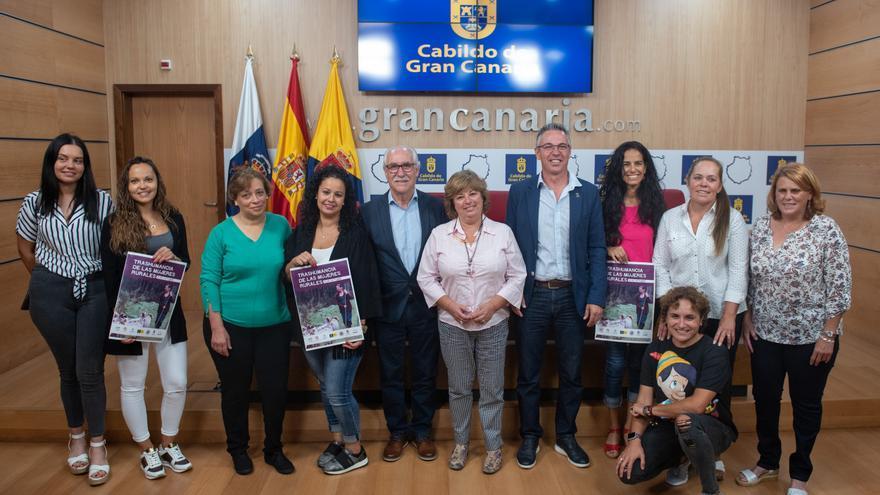 Presentación de la primera trashumancia para mujeres organizada en Gran Canaria