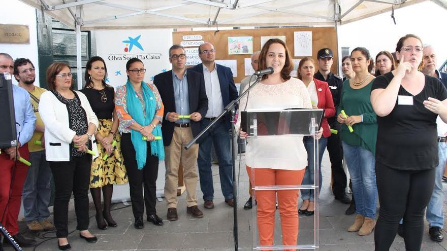 Acto institucional de la Feria del Voluntariado.