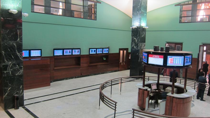 La Bolsa de Bilbao sube 13,14 puntos al finalizar la sesión y su índice general alcanza el 1.648,63