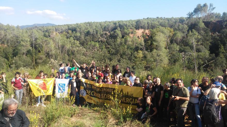 Los participantes del Volt II en su parada en Castellar del Vallès / ODG