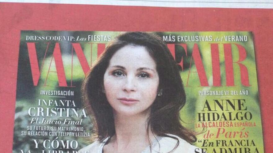 La jueza Mercedes Alaya en la portada de la revista Vanity Fair