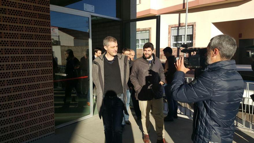 Óscar Urralburu, portavoz parlamentario de Podemos y presidente de la Comisión que investiga el Auditorio de Puerto Lumbreras
