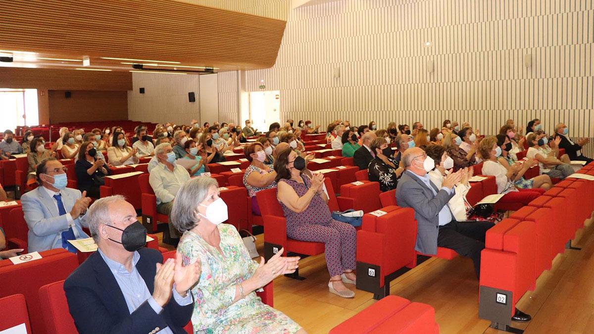 Acto de homenaje del Colegio de Enfermería de Córdoba a Nanda Casado.