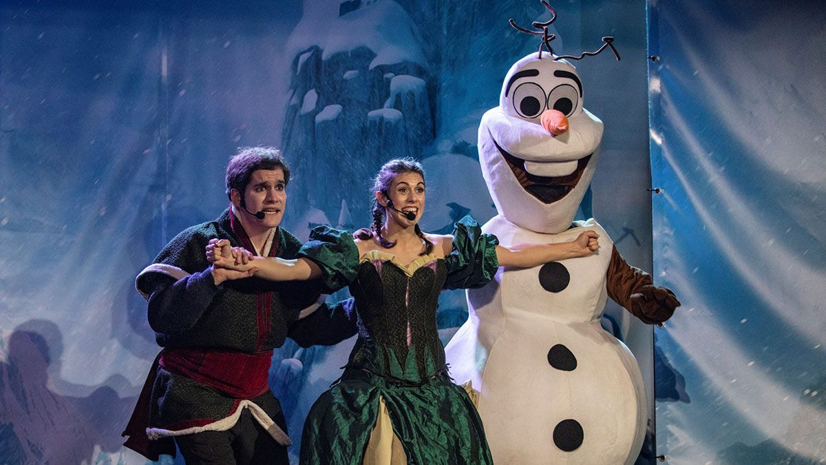 Imagen del musical de 'Frozen'.