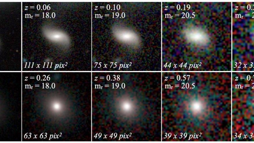 Completan el mayor catálogo de clasificación morfológica de galaxias que hay