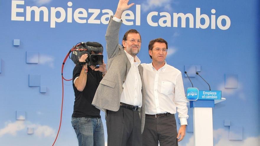 """Feijóo reivindica su """"lealtad"""" a Rajoy, tras reclamar que la autocrítica en el PP no se quede """"en palabras"""""""