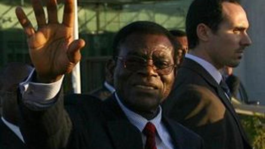 Obiang dice haber obtenido el 96,7% de los votos