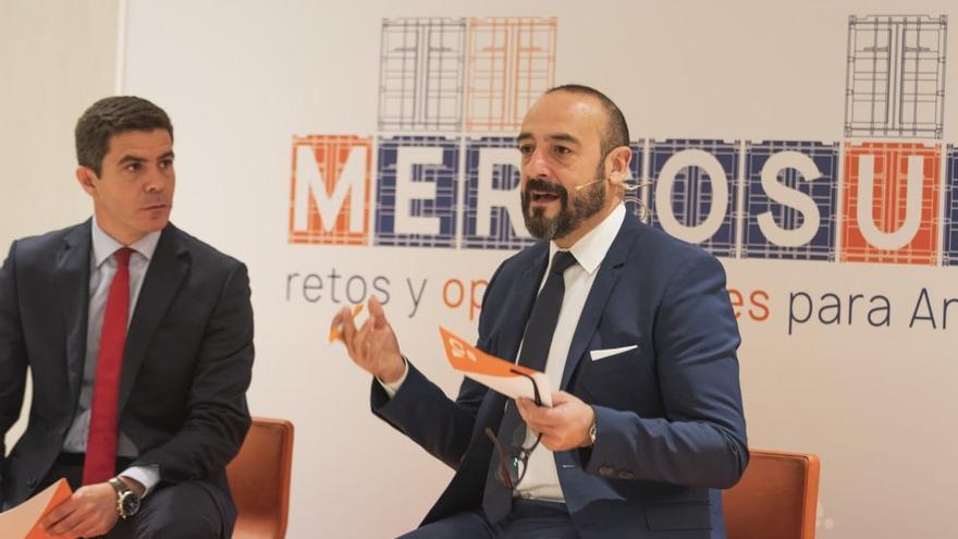 Archivo - El dirigente de Ciudadanos y eurodiputado Jordi Cañas.