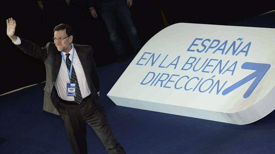 Comienza la convención nacional del PP con aplausos a Rajoy y Cospedal