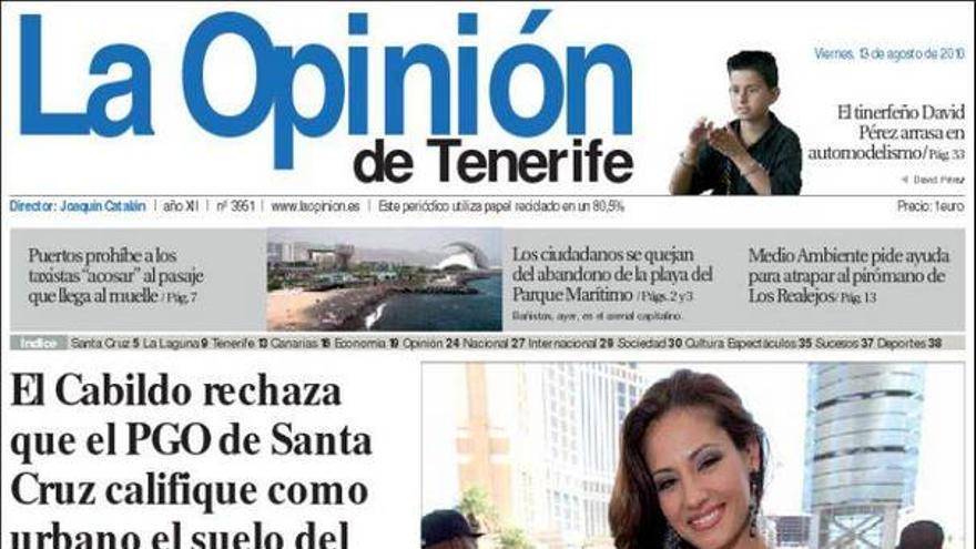 De las portadas del día (13/08/2010) #10