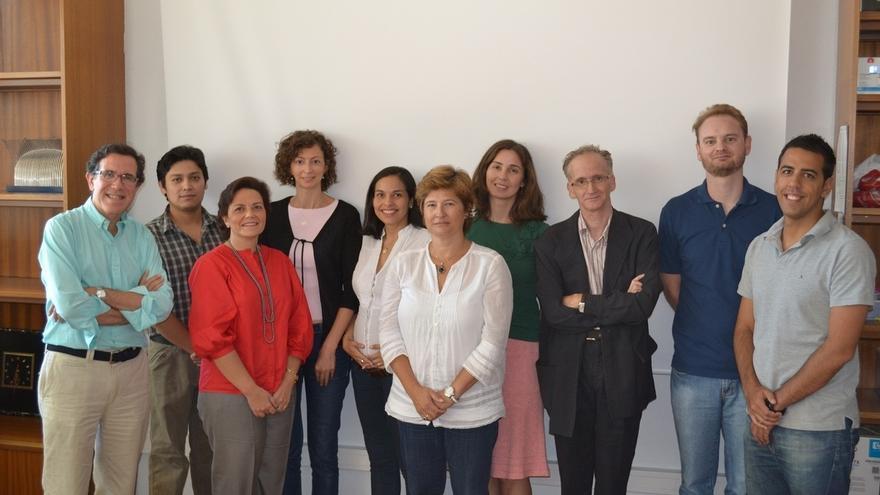 En la imagen, los investigadores del Centro de Investigación Biomédica en Red de Epidemiología y Salud Pública (CIBERESP) del Instituto de Salud Carlos III y del Instituto de Investigación en Ciencias de la Alimentación y la Salud de Madrid que han participado en el estudio. Imagen cedida por el CIBERESP.