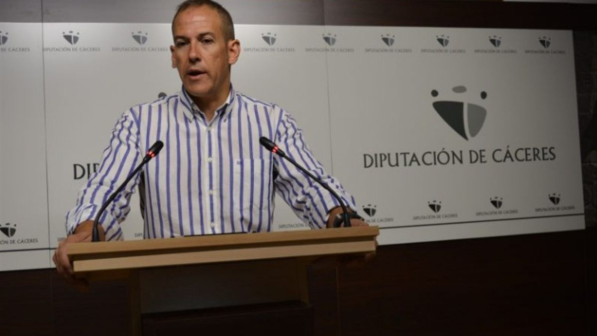 El alcalde de Malpartida de Cáceres, Alfredo Aguilera