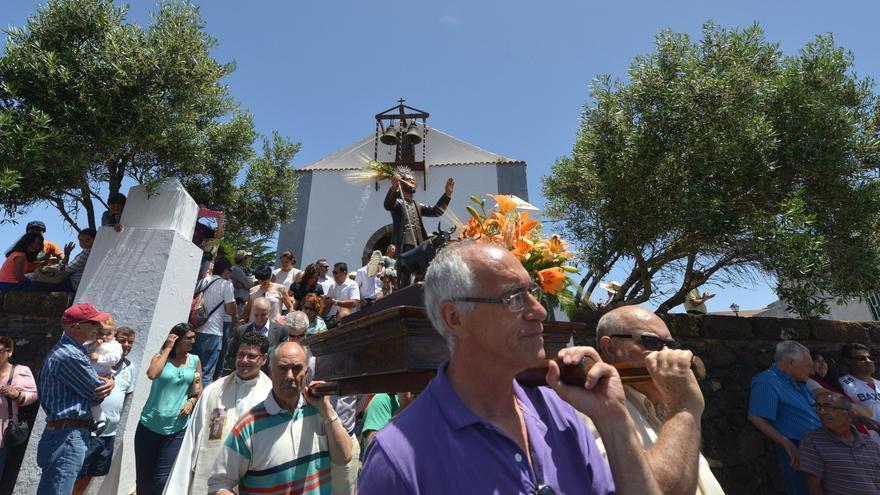 Fiestas de San Isidro en Valverde.