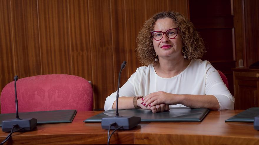 Nieves Hernández, consejera de Acción Social del Cabildo de La  Palma.