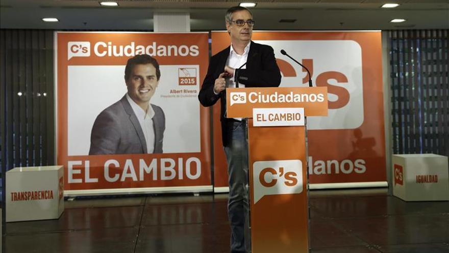"""Ciudadanos cree que será un éxito obtener """"cientos de concejales"""" y """"decenas de parlamentarios"""""""