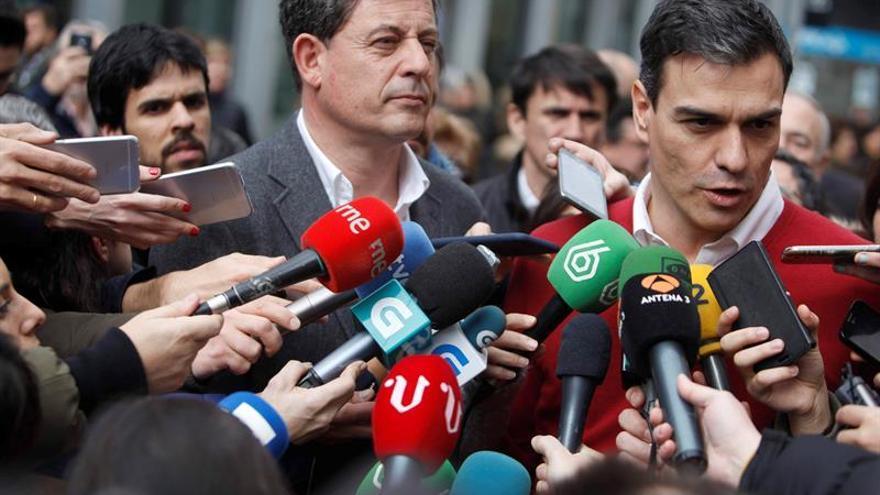 Sánchez no entiende que Errejón acuse al PSOE de una ofensiva contra Podemos