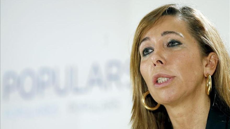 """Sánchez-Camacho se muestra """"orgullosa"""" de la querella presentada contra Mas"""