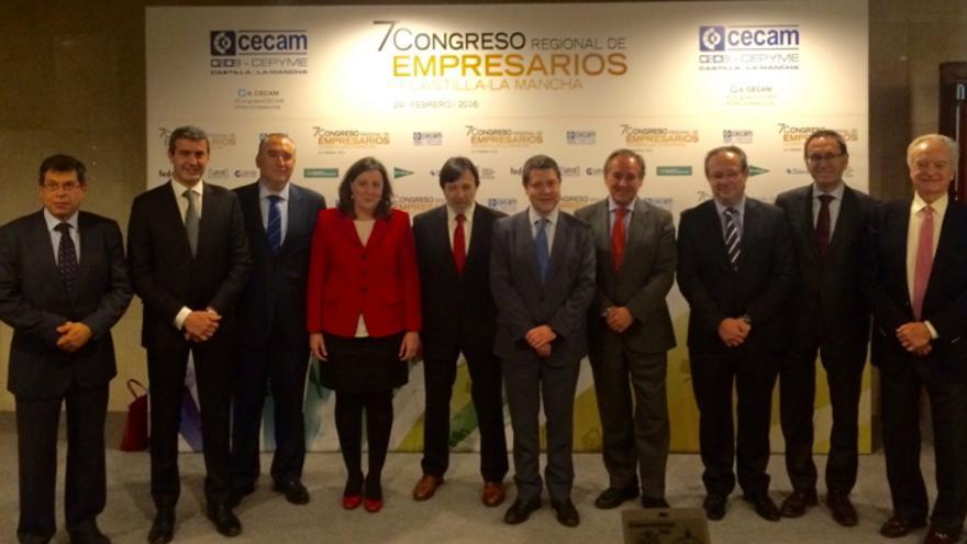 Séptimo congreso regional de empresarios de Castilla-La Mancha / Twitter @_CECAM