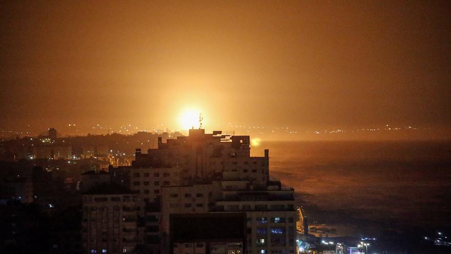 Israel vuelve a bombardear en Gaza tras un nuevo lanzamiento de cohete