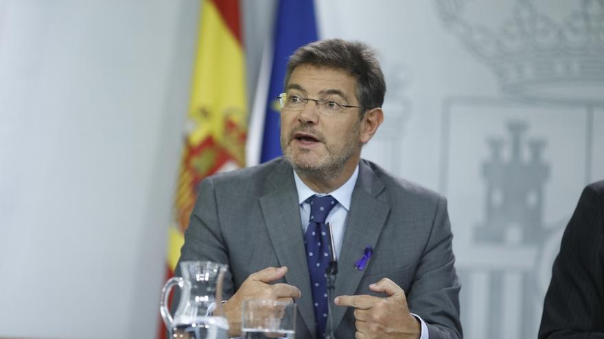 """Catalá pide a Bruselas revisar la euroorden para que la libre circulación de europeos no permita """"huir de la justicia"""""""