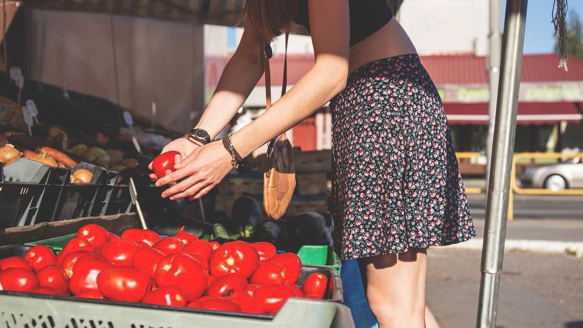 Compra de fruta y verdura