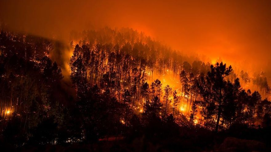 Los incendios declarados en el Xurés arrasan cerca de 800 hectáreas
