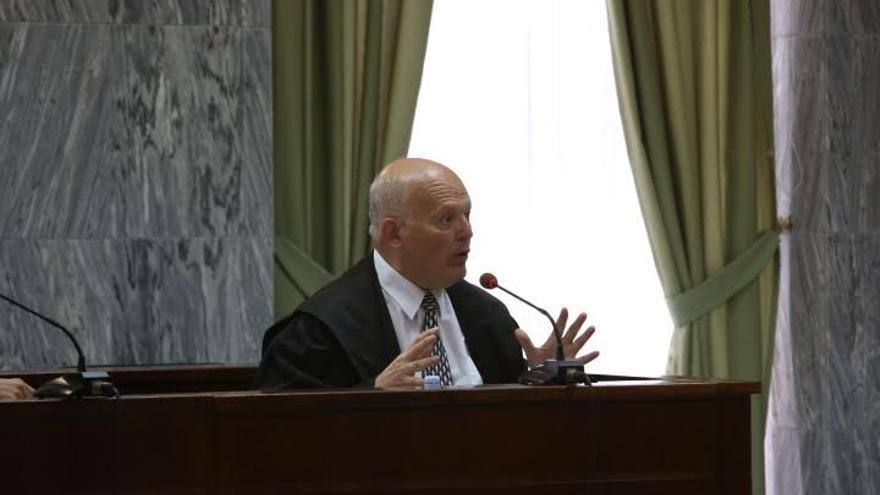El abogado Eligio Hernández.(ALEJANDRO RAMOS)