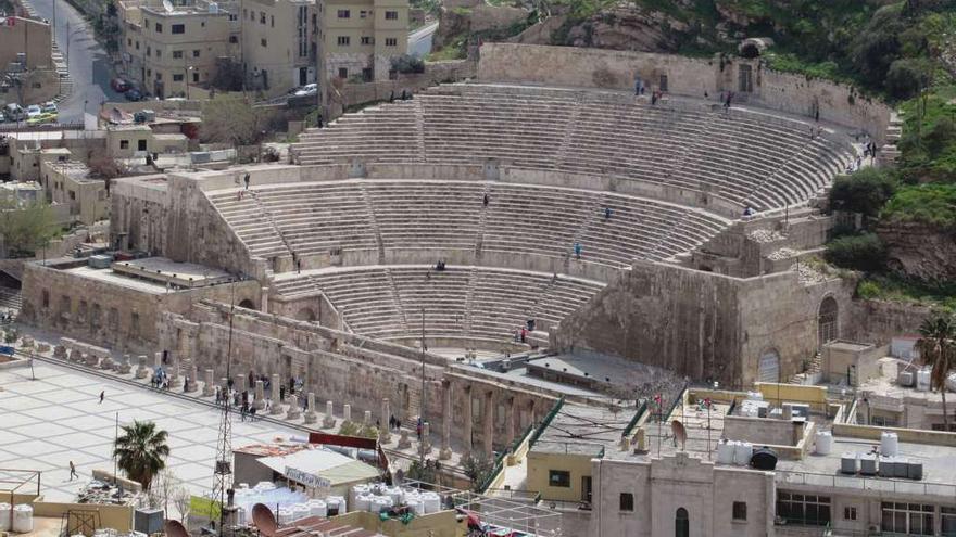 Teatro romano de Amán. David Stanley (CC)