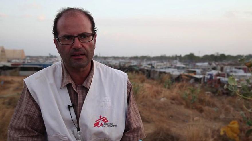 Carlos Francisco es coordinador general de Médicos Sin Fronteras en Síria / MSF
