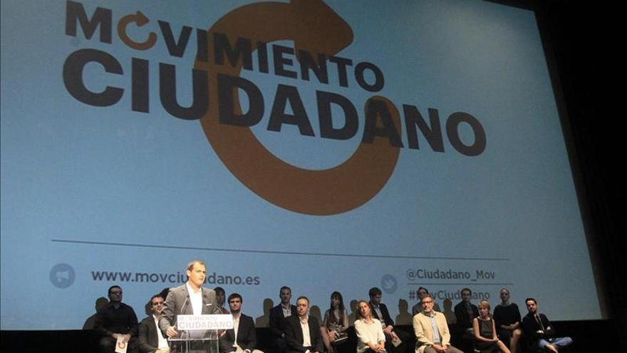Albert Rivera en el acto de presentación de Movimiento Ciudadano