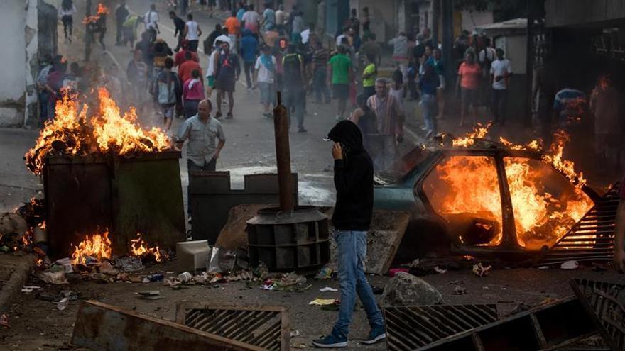 """Una ONG venezolana informa de 43 detenidos y """"varios heridos"""" en las protestas"""