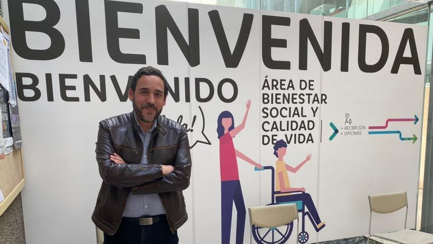 Rubén Ascanario, responsable del área de Bienestar Social de La Laguna.