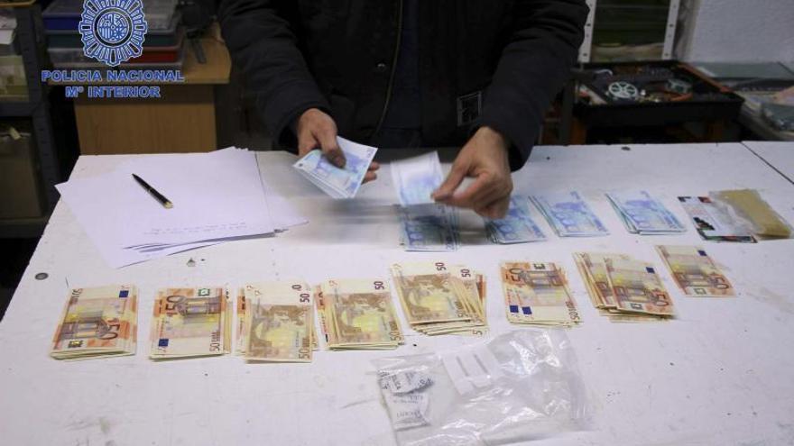 Detenido el principal falsificador de billetes de euros de España