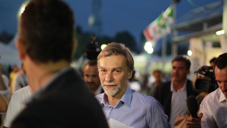 El ministro italiano de Obras Públicas, Graziano Delrio