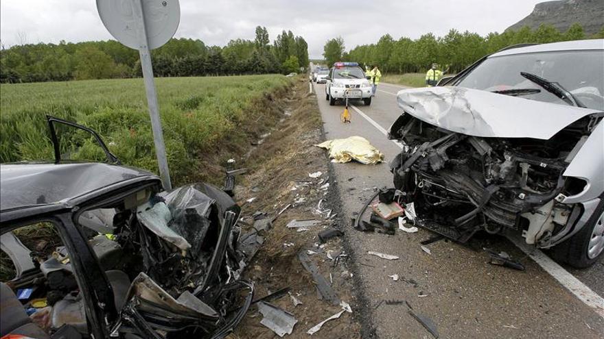 Nueve muertos en las carreteras españolas durante el fin de semana