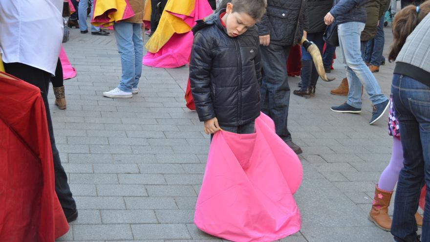 Niño toreando en Albacete / Foto: Javier Robla
