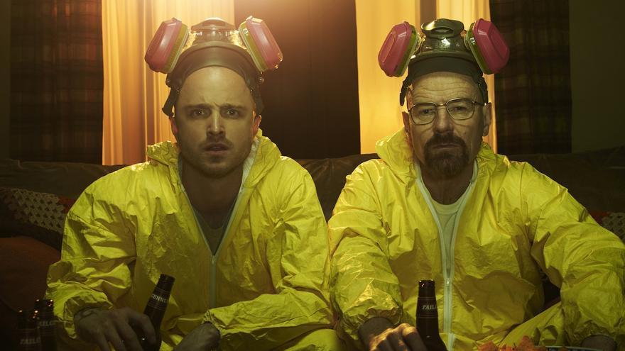 Jesse y Walter, haciendo maratón en 'Breaking Bad'