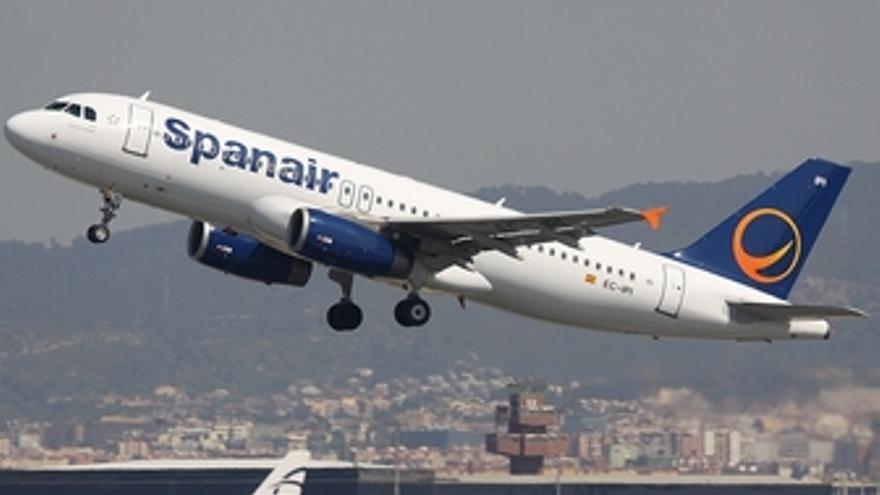 Aeronave de Spanair