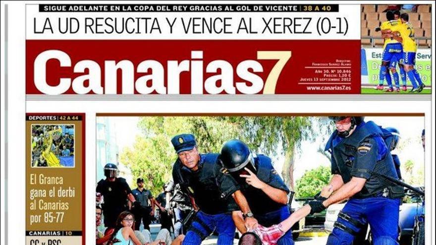De las portadas del día (13/09/2012) #1