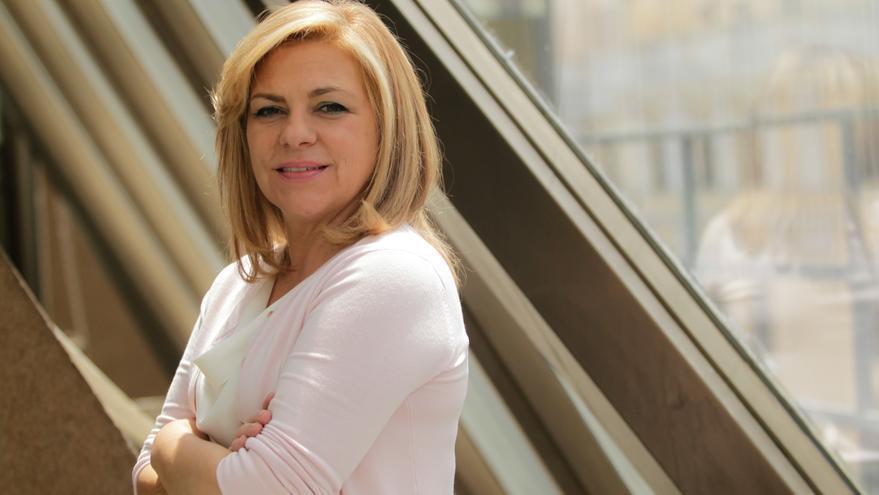 La candidata del PSOE a las europeas, Elena Valenciano. / Marta Jara