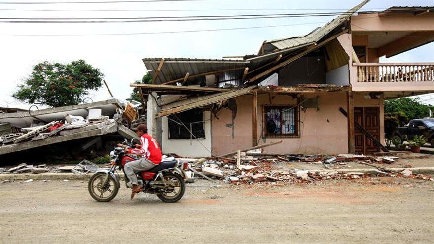 Se han registrado más de 3.770 réplicas del terremoto de magnitud 7,8 de abril 2016 en Ecuador