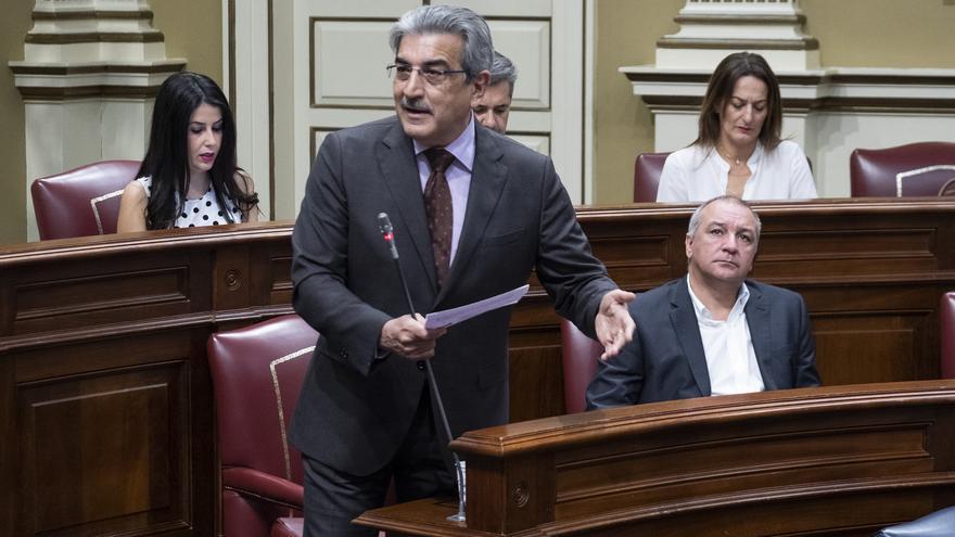 El líder de Nueva Canarias, Román Rodríguez.