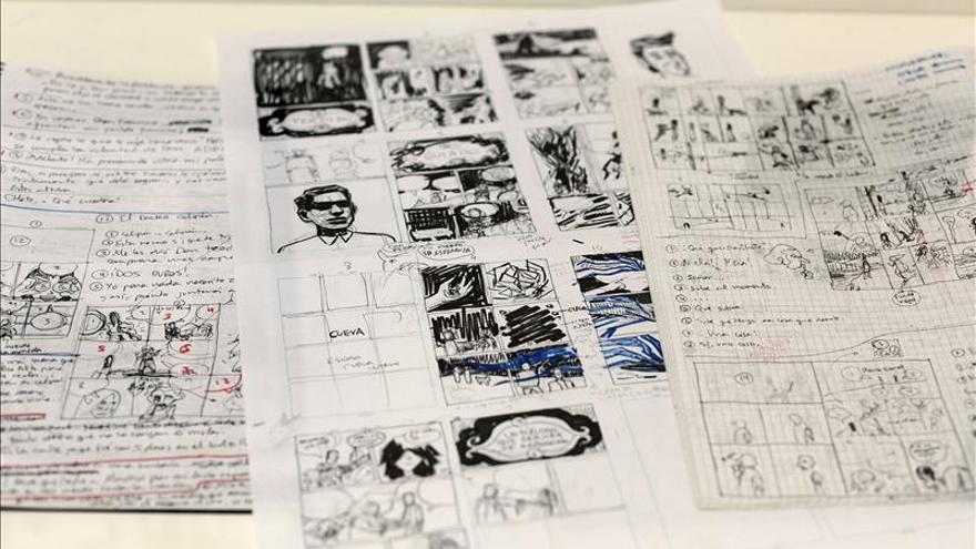 El primer cómic sobre una obra de Galdós revela sus dotes de dibujante