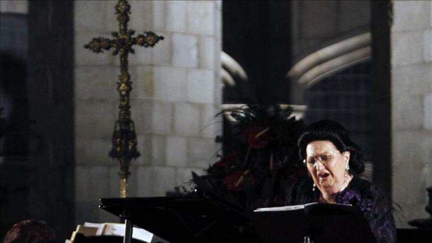 """Montserrat Caballé protagoniza el concierto """"Voces para la Esperanza"""""""