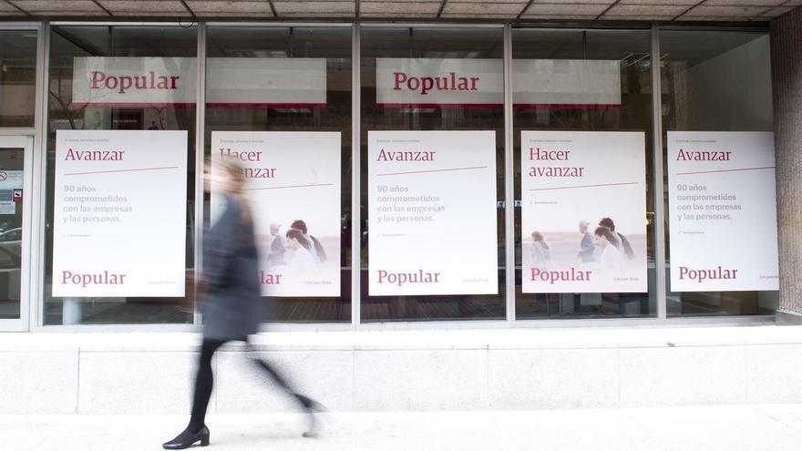 Los exconsejeros de Popular pierden casi un millón de euros por la amortización de sus acciones
