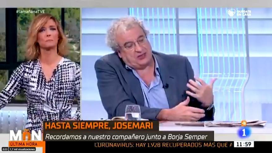 María Casado, emocionada al recordar a José María Calleja