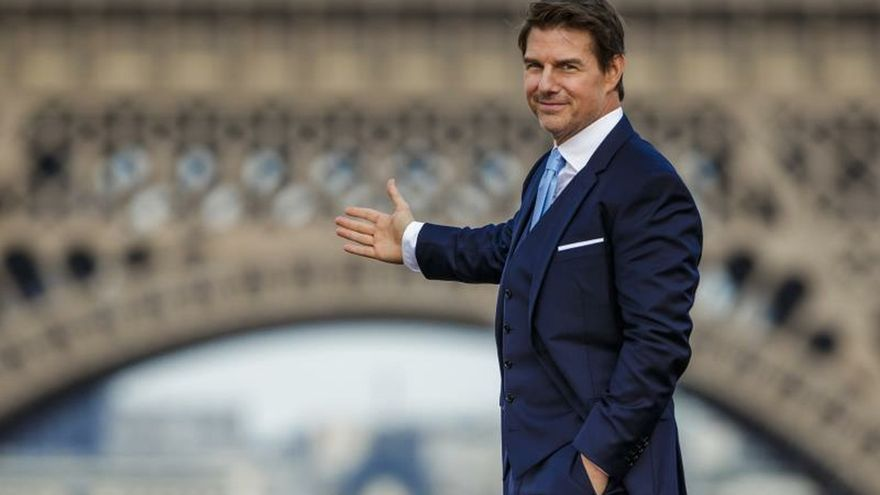 En la imagen el actor estadounidense Tom Cruise.